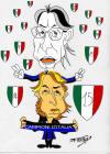 Moratti, Mancini e il 15? scudetto... visti dal disegnatore Domenico Fittipaldi